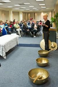 Tibetan Healing Bowls Demonstration
